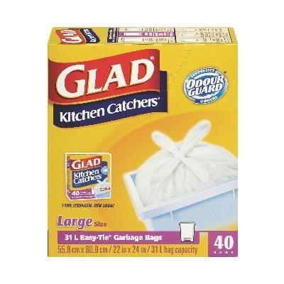 Glad - Kitchen Catcher - 40 CT - 10280 - Home Depot Canada