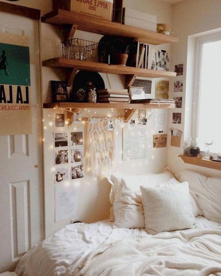 Kreative Wohnheim Zimmer Dekor Ideen - Schlafsaal #dormroomideas