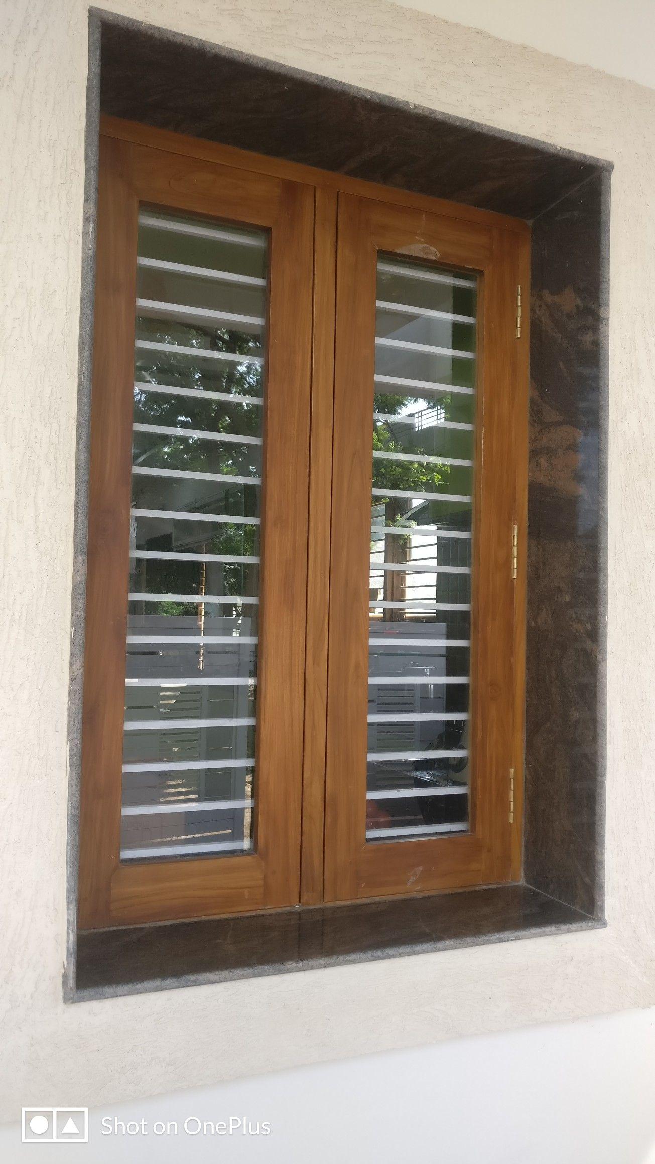 Bavas Wood Works Pooja Room Door Frame And Door Designs: Wooden Window Design, Wooden Door Design