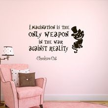Aliice In Wonderland Dorm Slaapkamer Decor Gift Decals Met ...