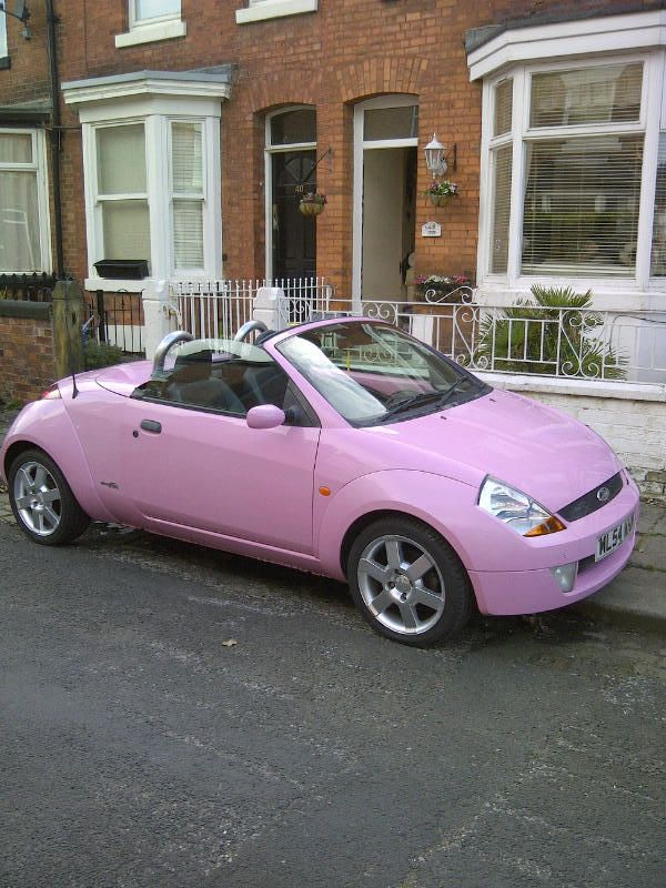 2004 Ford Streetka Luxury Pink Limited Edition Thunderbird Ford