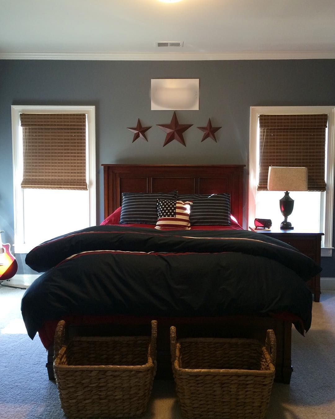 Best Sherwin Williams Serious Gray On Wall Guest Bedroom 640 x 480