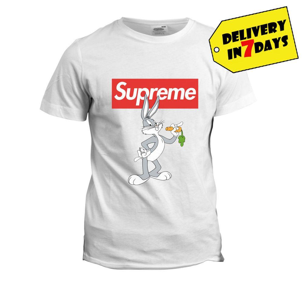 055d55a8 Supreme Bug Bunny T Shirt - Funny Bug Bunny Shirt for Mens and Kids Size  S-3XL #SupremeShirt #supremetshirt