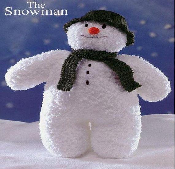 PDF Vintage The Snowman Knitting Pattern - Snowman ...
