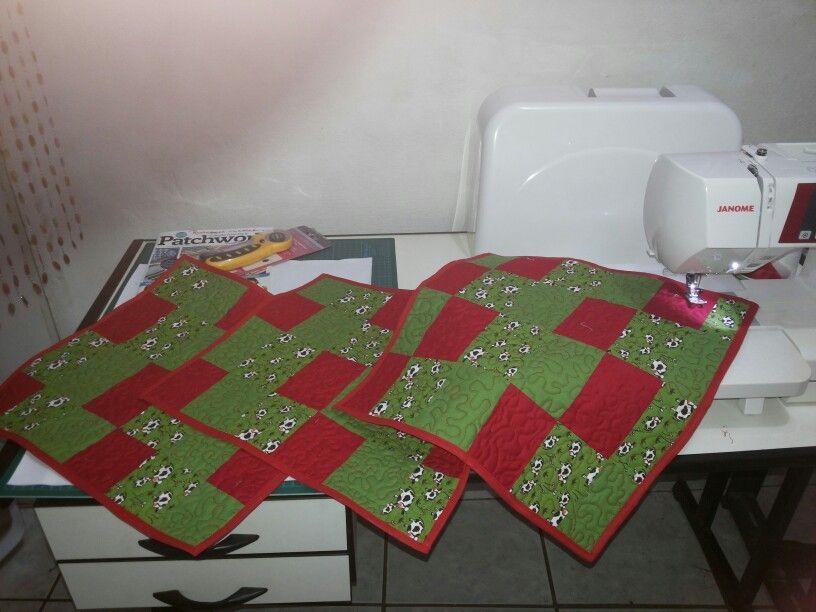 Jogo americano 02 faces em patchwork