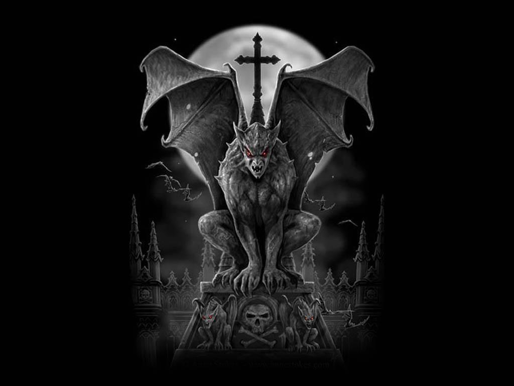Fonds D Ecran Mystiques Le Genre Gothique Mystique Etrange Gothique Papier Peint Gothique Gargouille Tatouage De Gargouille