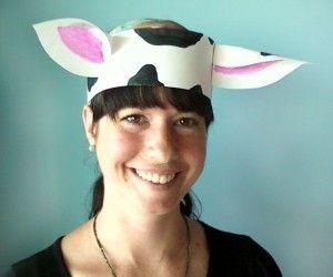 Cow Ear Hat Craft Kids Cow Craft Farm Animal Crafts Barnyard