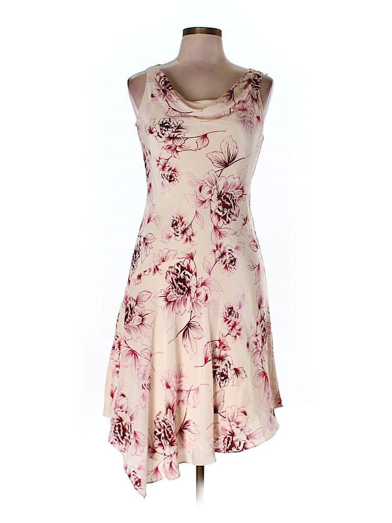 Silk Dress | Silk dress, Ann taylor loft and Silk