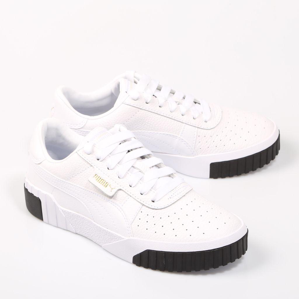 Puma Cali Wns, zapatillas Blanco Piel | 68793 | Zapatillas ...