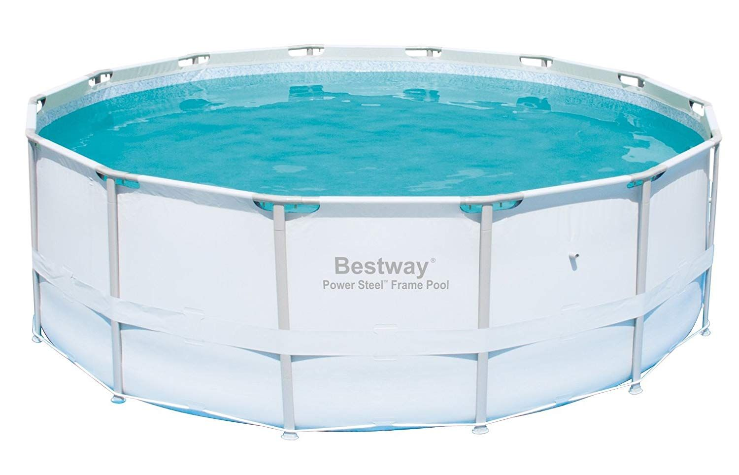 Amazon Com Bestway Steel Pro 12 X 30 Inch Frame Above Ground Swimming Pool With Filter Pump Garden O In 2020 Pool Above Ground Swimming Pools Cool Swimming Pools