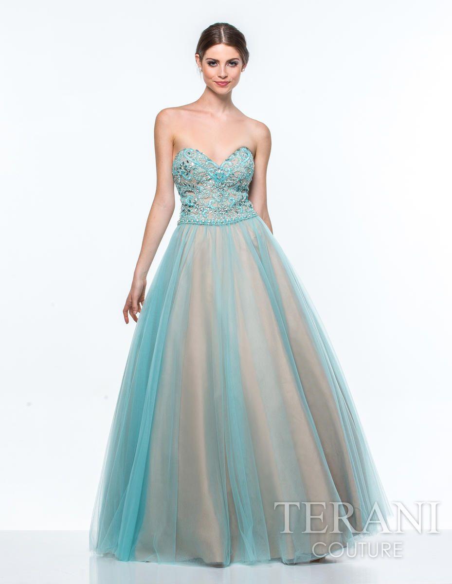 Terani Designer Prom Dresses NYC   Terani Prom Gowns Long ...