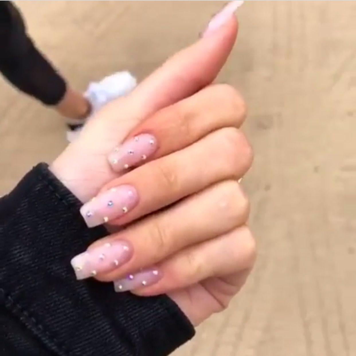 Kylie Jenner Nails Kyliejenner Kyliejennernails Nailideas Nailartistr Kylie Nails Hard Gel Nails Luxury Nails