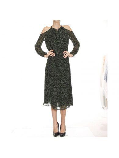 MICHAEL MICHAEL KORS Dress Dress Woman Michael Michael Kors. #michaelmichaelkors #cloth #dresses