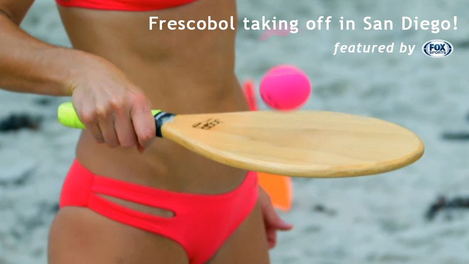 Check out the hottest game happening in San Diego!  Have you played frescobol yet?