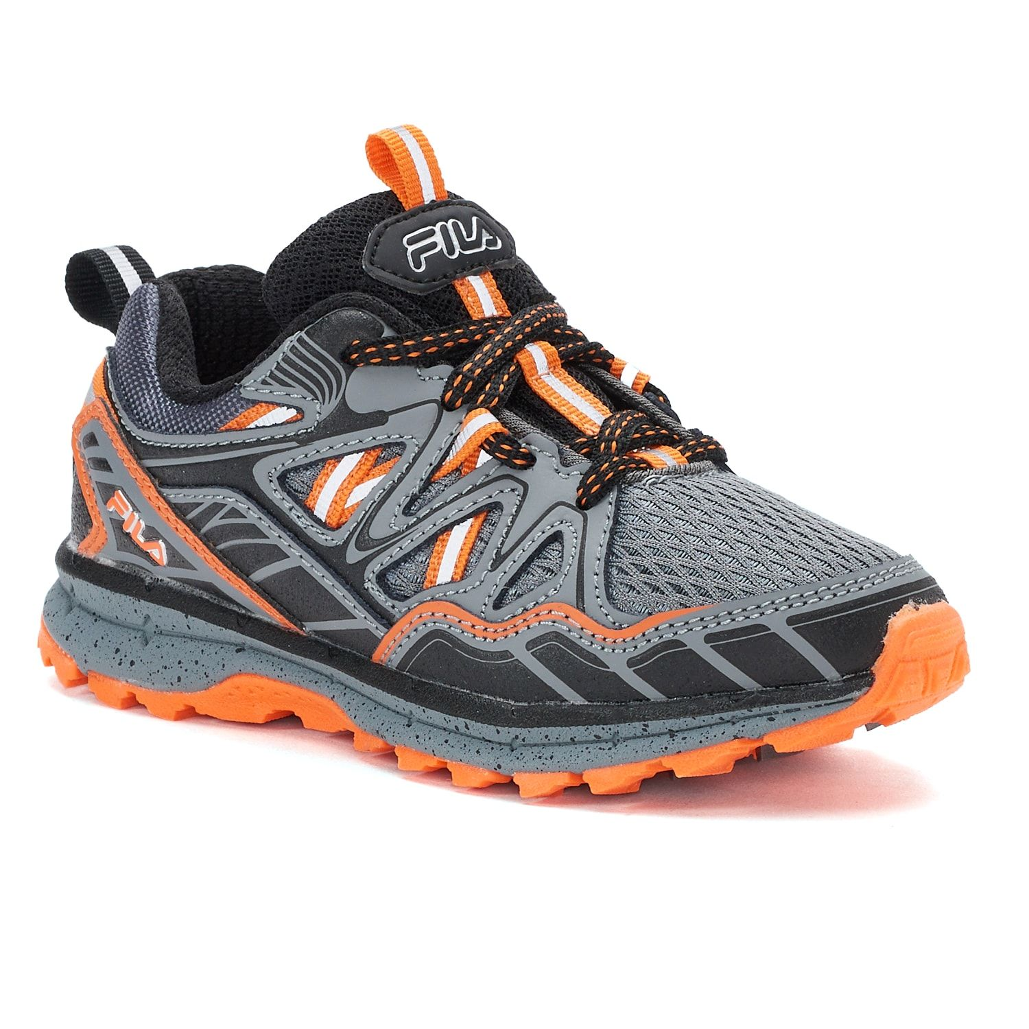 FILA庐 TKO TR 5.0 Boys Trail Running Shoes #TR, #FILA, #TKO, #Running | Trail  running shoes, Running shoes, Shoe features
