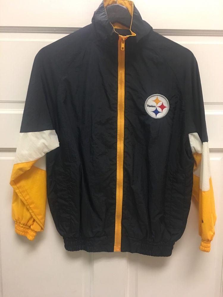 huge selection of 282c6 5d766 Logo Athletic Nfl Pittsburgh Steelers Kids Windbreaker ...