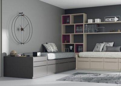 Dormitorios juveniles e infantiles catalogo muebles for Muebles infinity