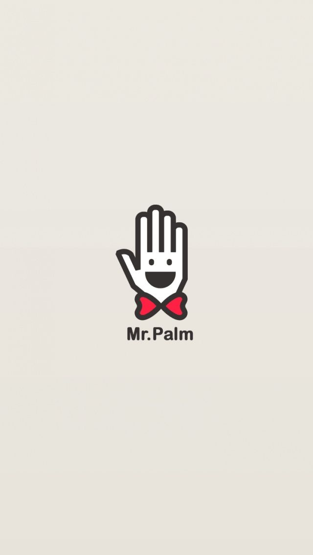 Mr. Palm - @mobile9 minimal wallpaper