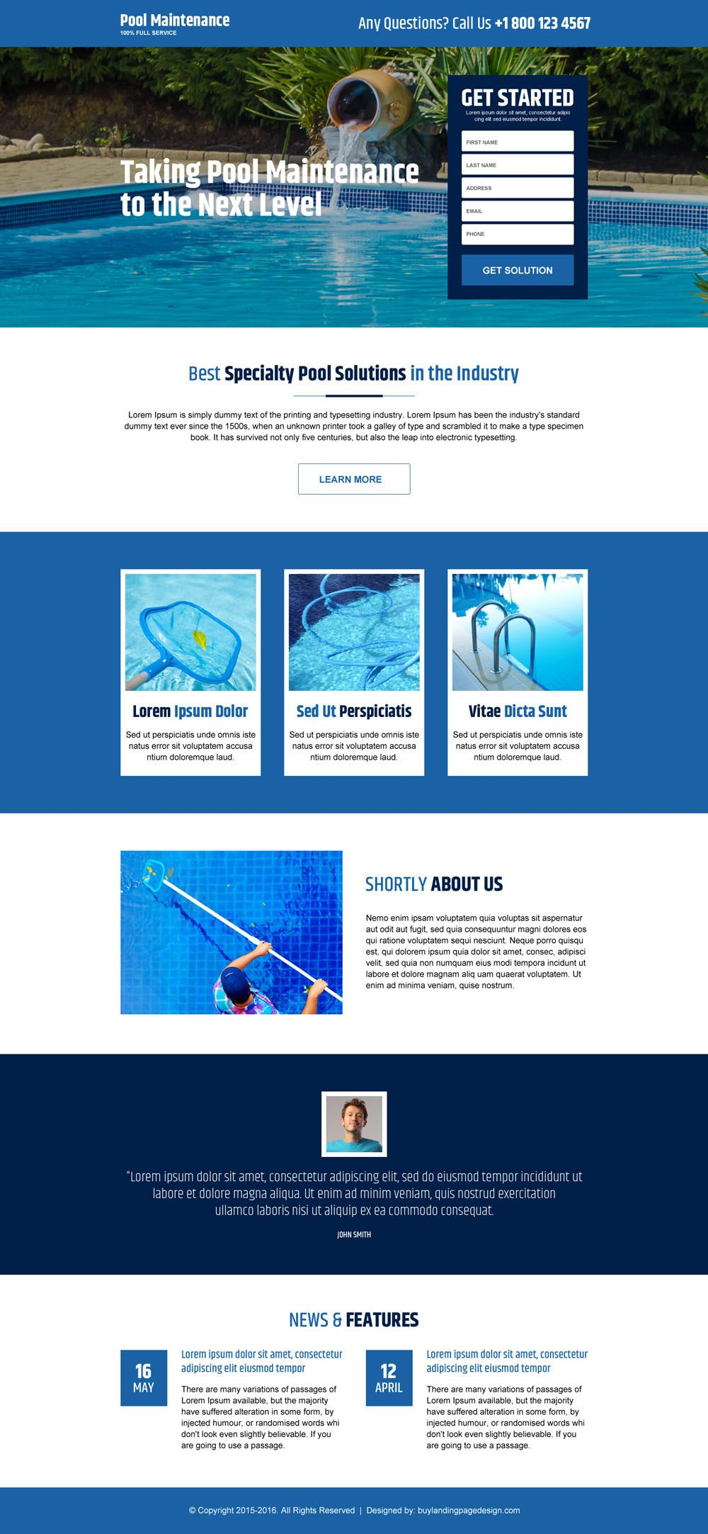 Cleaning Service Leads Kleobeachfixco - Lead generation website template