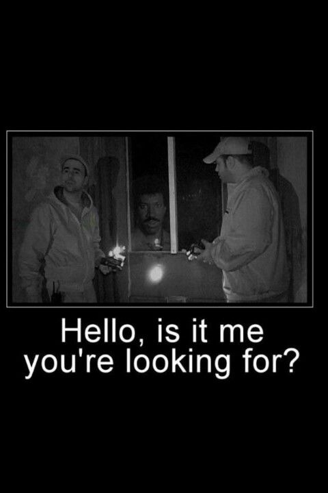 Ghost Hunters meets Lionel Ritchie! LMAO! | Pop Culture Goodness
