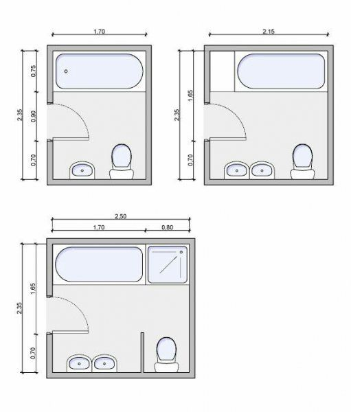 Best Information About Bathroom Size And Space Arrangement Nel