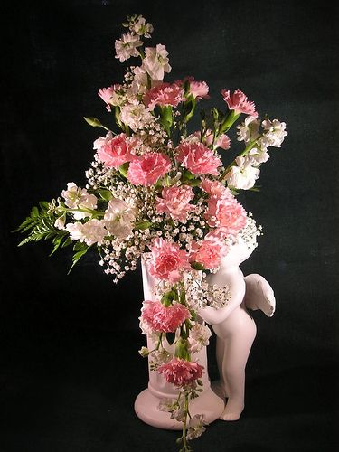 Guardian Angel Flower Arrangement Wedding Ideas Flower Arrangements Silk Flower