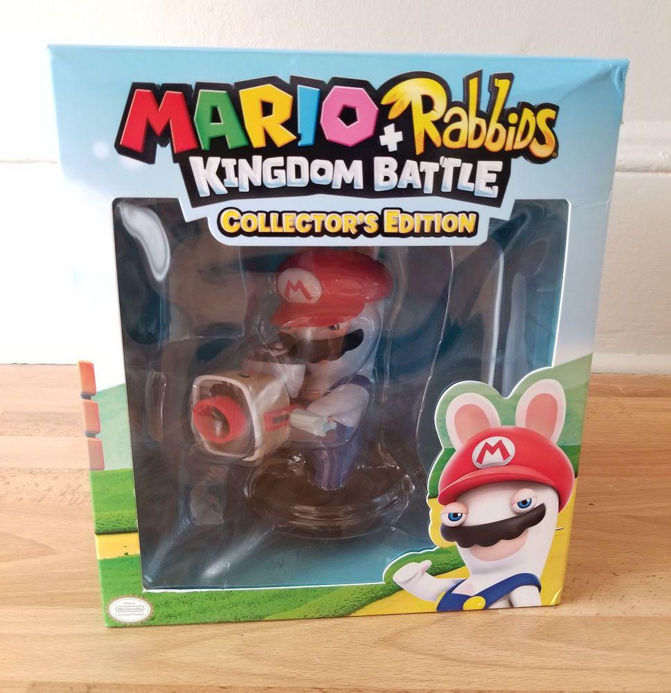 Mario rabbids battle kingdom collectors edition statue