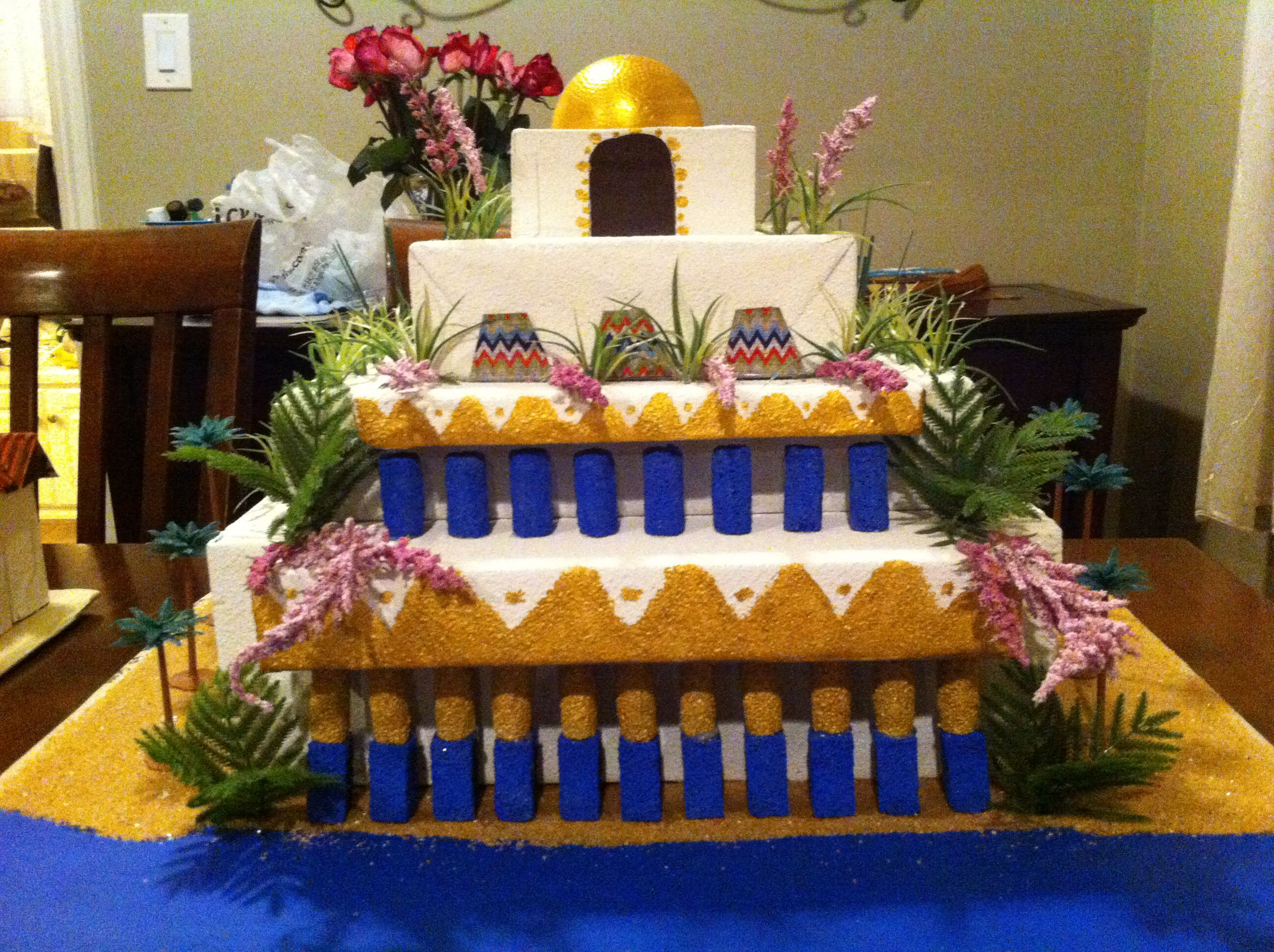 Hanging Gardens Of Babylon Project Structure Made By