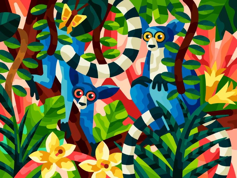 Jungle Eyes Coloring Books Painting Book Decor