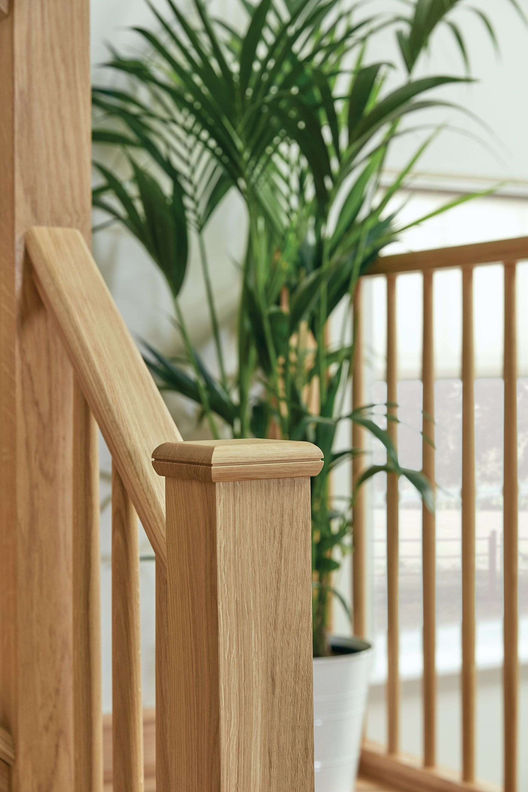 Best Slim Oak Spindle Staircase Staircase Design Staircase 400 x 300