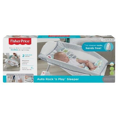 8e58c8d15e9 Fisher-Price Auto Rock  n Play Sleeper - Aqua Stone  Auto