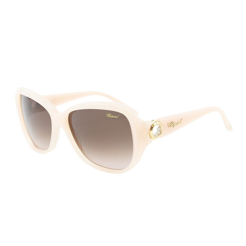 95657b40e0 Chopard Happy Diamonds SCH 148S 9XA Women Floating Crystals Ivory Sunglasses