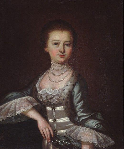 Mrs. John Dart Artist: Jeremiah Theus (American, Chur, 1716–1774 Charleston, South Carolina) Date: ca. 1772–74