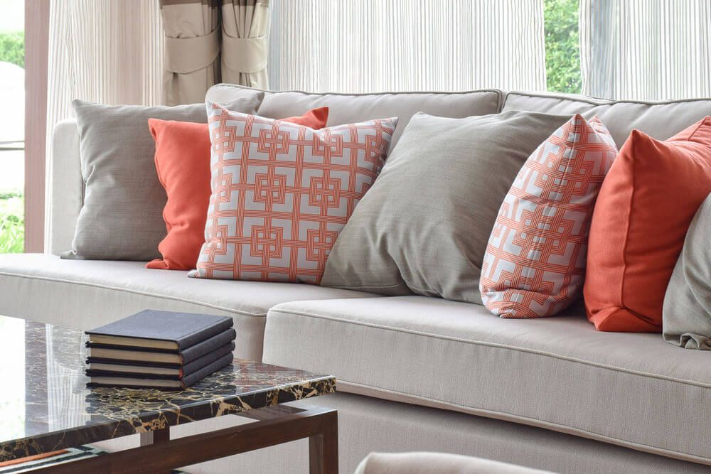 sofa throw pillow examples sofa decor guide sofa