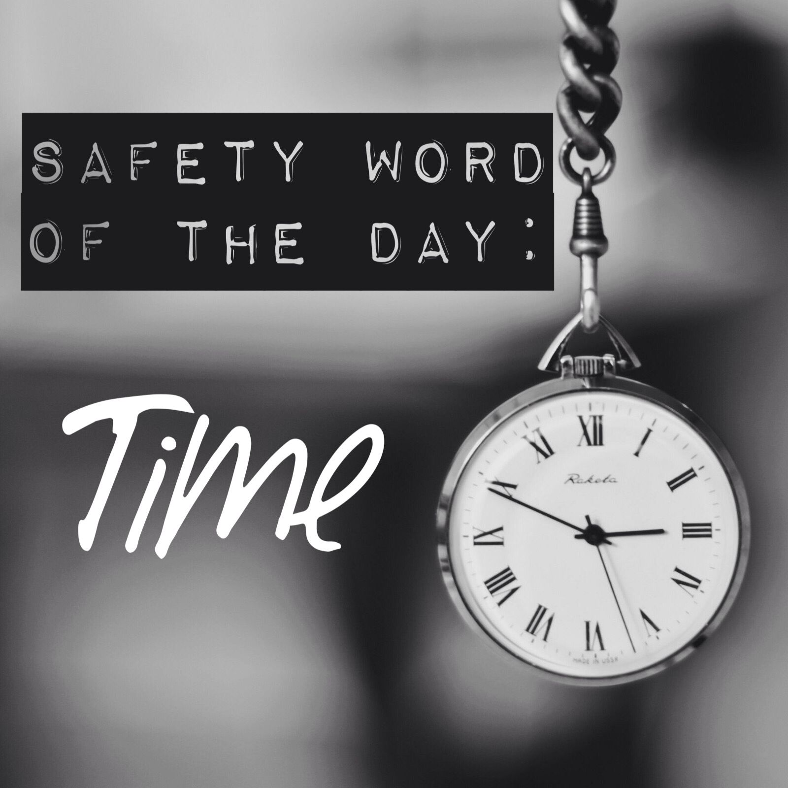 """""""Make time for safety."""" You've hear this before but what"""