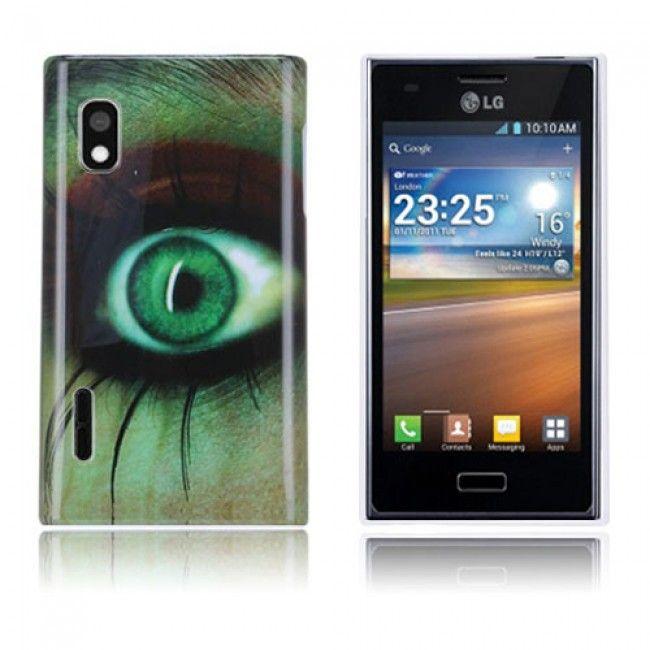Optical (Kauhu) LG Optimus L5 Suojakuori - http://lux-case.fi/optical-kauhu-lg-optimus-l5-suojakuori.html