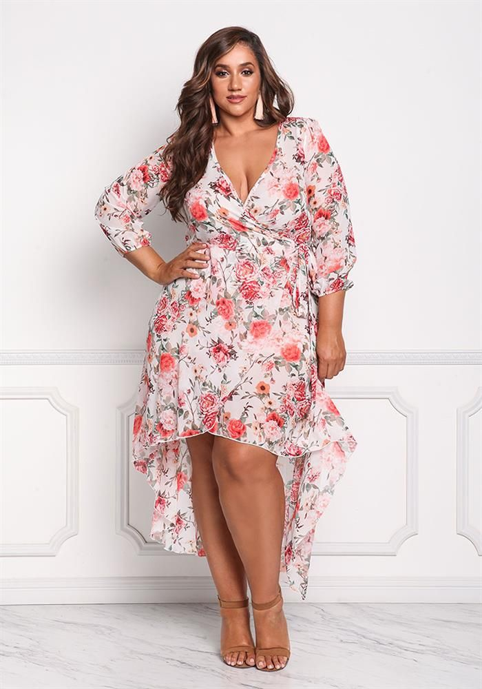 709b79be676c 5 Plus Size Wrap Dresses To Get You Through The Rest Of The Summer ...