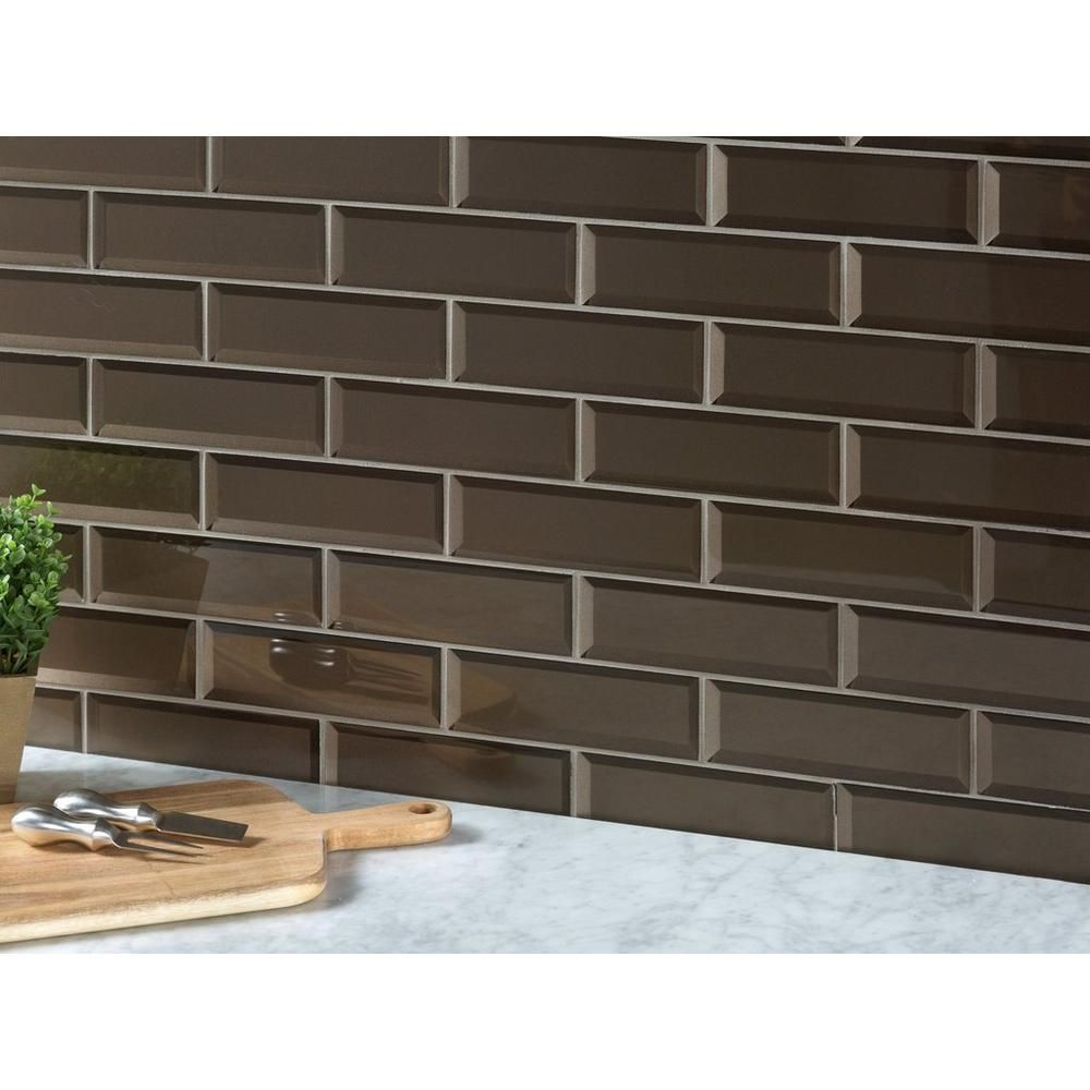 Tobacco Suede Glass Wall Tile Glass Backsplash Kitchen Glass Tile Backsplash Kitchen Wall Tiles