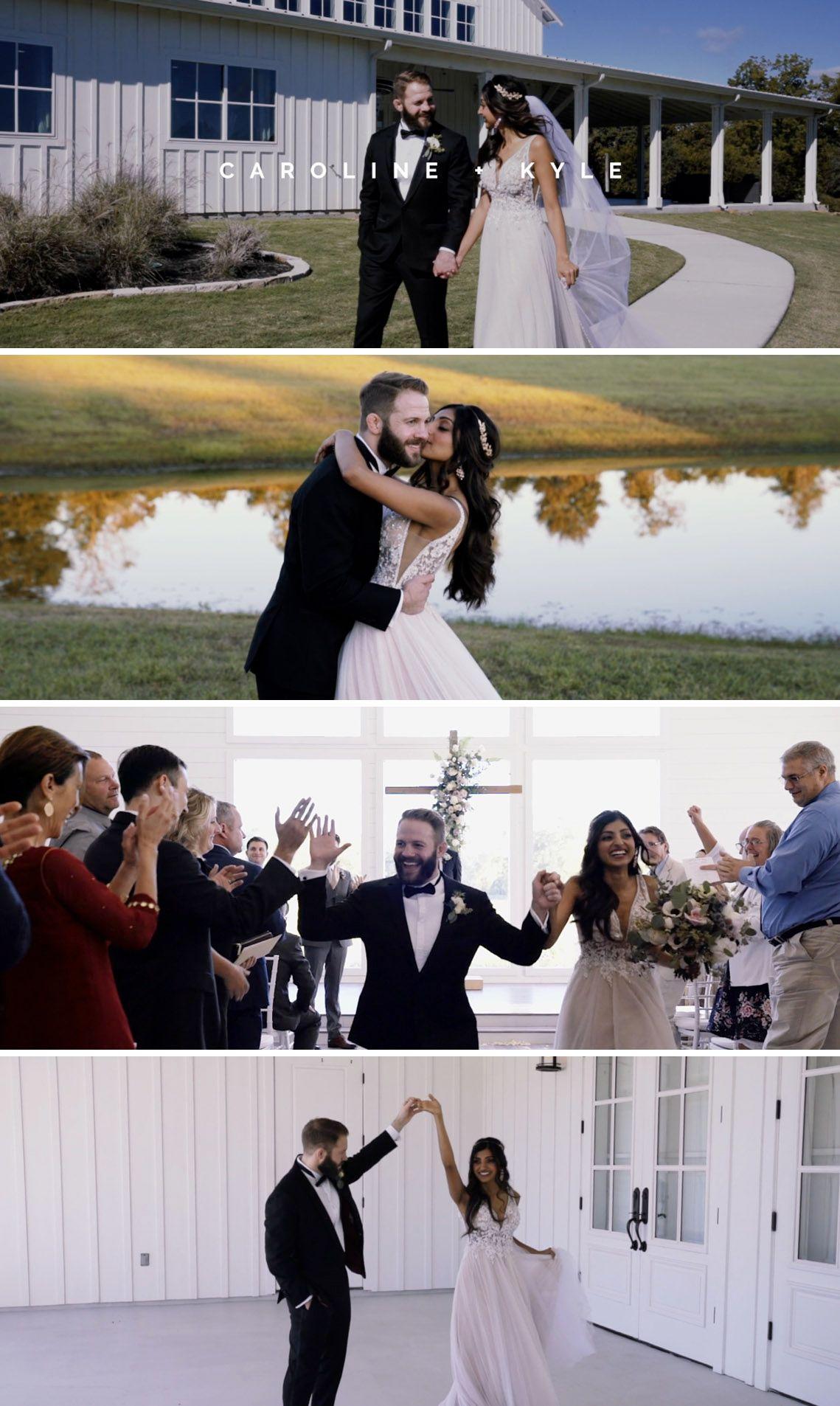 Award winning wedding videography with no regrets