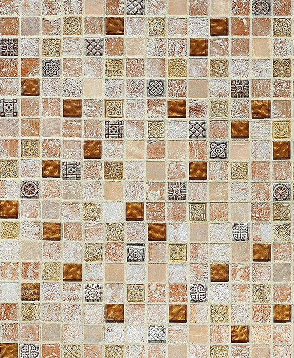 Travertine Subway Mix Backsplash Tile Ivory Beige Brown Glass Tile Backsplash Glass Backsplash Tile Backsplash