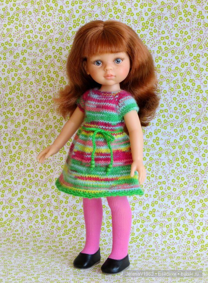 Куколка Кристи Paola Reina, с серыми глазами, идеальной