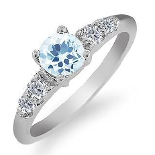 https://ariani-shop.com/089-ct-round-sky-blue-topaz-white-diamond-925-sterling-silver-ring 0.89 Ct Round Sky Blue Topaz White Diamond 925 Sterling Silver Ring