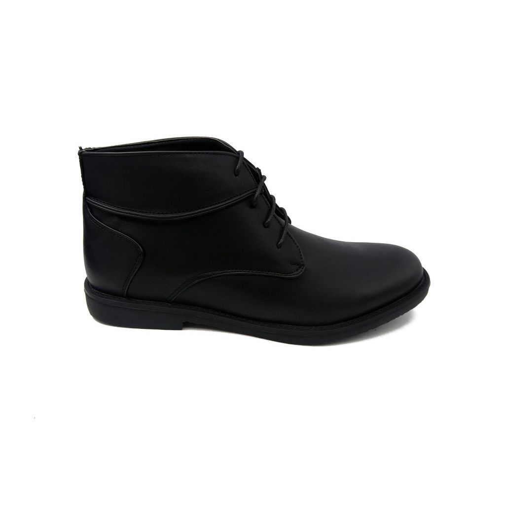 Mecca Men's Faux- High-top Chukka Boots