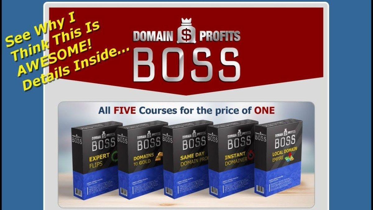 Domain Profits Boss How To Sell Domain Names For Profit