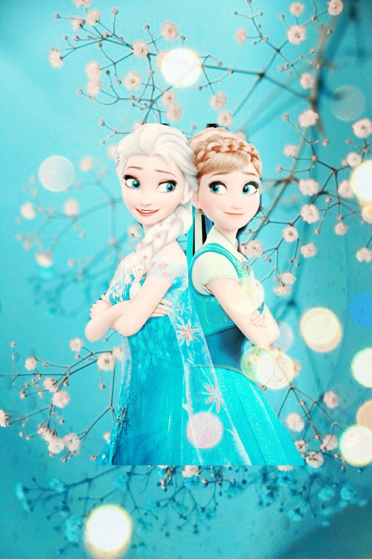 Anna And Elsa Iphone Wallpaper Disney Princess Wallpaper Elsa Frozen Frozen Elsa And Anna