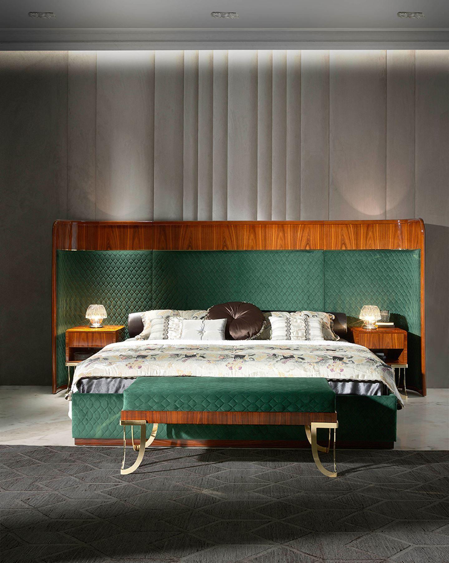 SAVOY bedroom - SOHER www.soher.com  #furniture #bedroom #bedroomdecor  #bedroomideas #bedroomdesign #bed #interiordesign #interiordesignideas #interiores #homedecor #homedecorideas #home #luxury #luxuryfurniture #luxurylifestyle #luxuryhomes