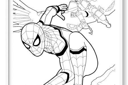 Spiderman Para Colorear 130 Imagenes Del Hombre Arana Para Pintar Hombre Arana Para Pintar Imagenes Del Hombre Arana Spiderman