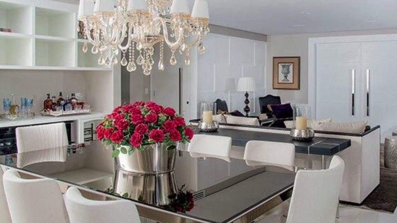 Lovely Dining Room Tabl غرف طعام راقيه Youtube Dinner Room
