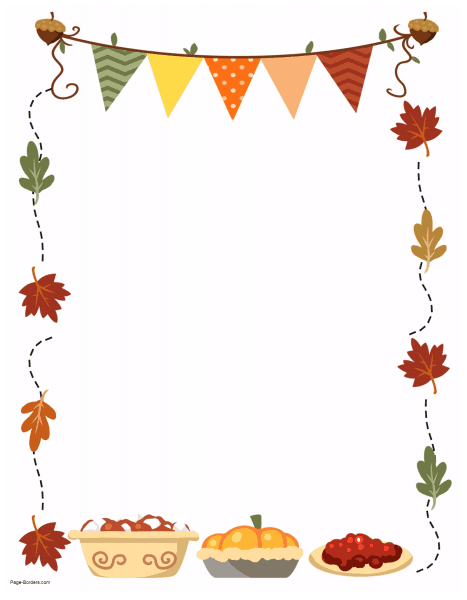 Thanksgiving Border Printables Many Designs Available Thanksgiving Templates Borders For Paper Thanksgiving Paper