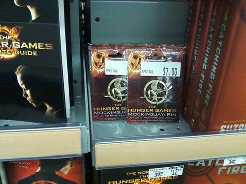 #The #Hunger Games Movie Mockingjay Prop Rep #Pin   umm   http://amzn.to/HkA0ch